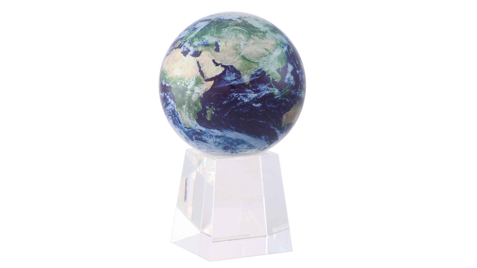 globes by 1st stop globes on a pedestal with a white background