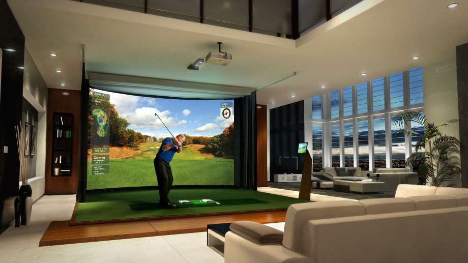 Golf simulator by high Definition Golf