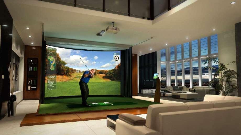 Golf simulator by high Definition Golf