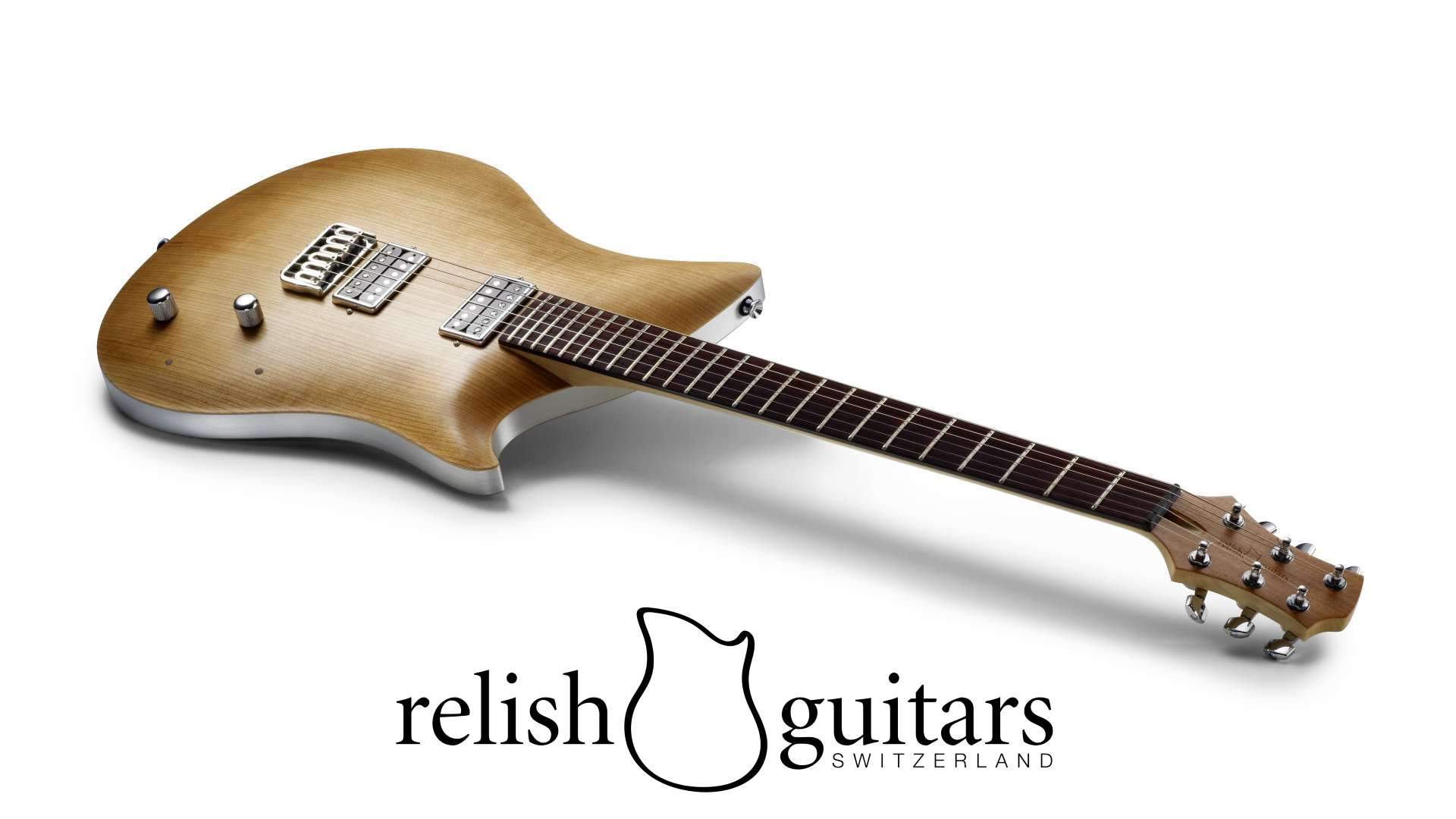 guitars by relish guitars a guitar with a white background
