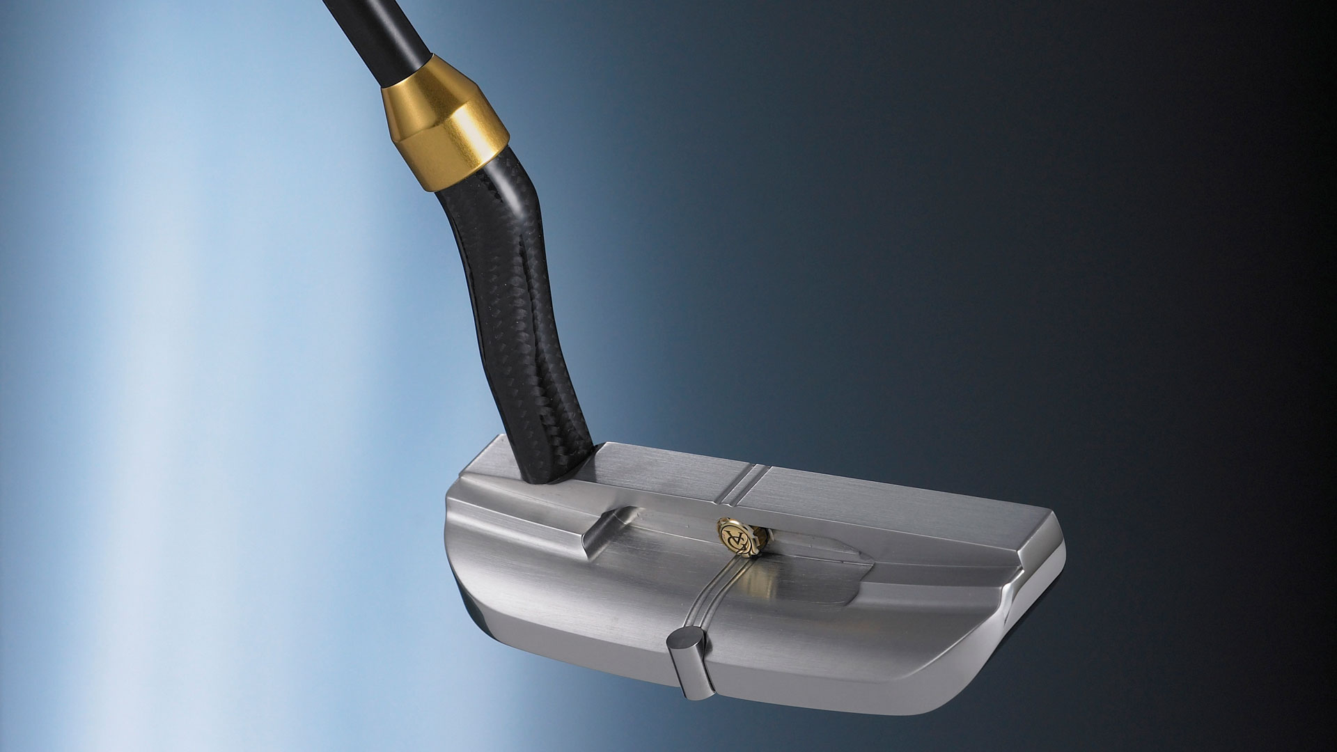 luxury putters by Valgrine a up close shot of a putter