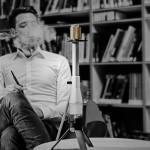 IOOI Hookahs a man smoking a hookah