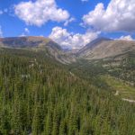 luxury property in Breckenridge Colorado with beautiful mountains