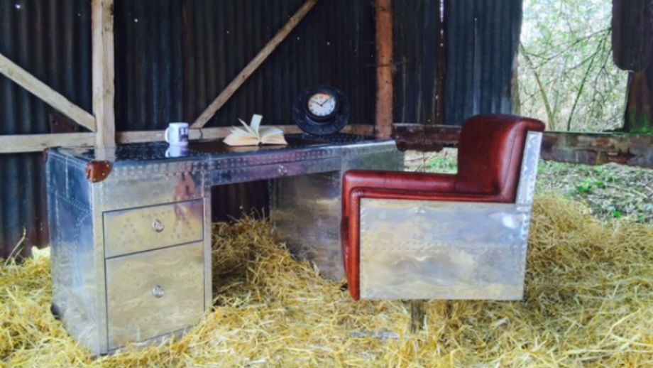 Furniture By Smithers Of Stamford A Desk In A Barn