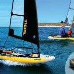 inflatable boat by Tiwal Inflatable Boat Sailing Water