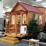 tiny mountain houses by tiny mountain living shows a tiny house at convention