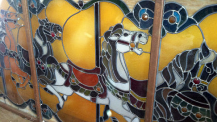 Carousel Horse Stained Glass