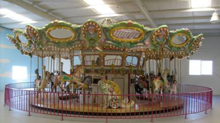 1990 Barrango Menagerie Carousel