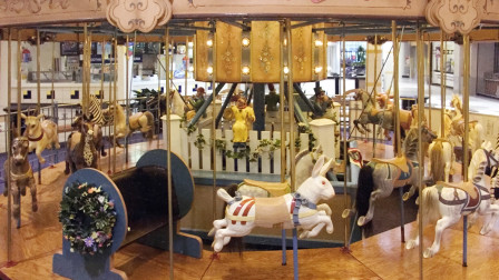 Children's Carousel Circa 1920