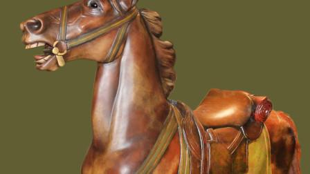 Muller Cavalry Carousel Horse Ca 1910