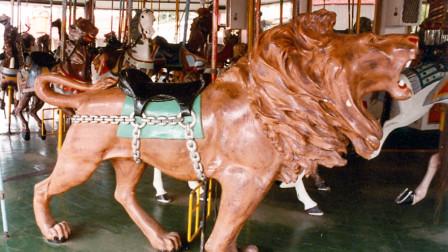 Illions Carousel Lion 1900-1910 Rare