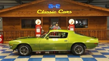 1970 Chevrolet Camaro Z/28 – Citrus Green / Black