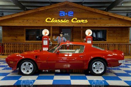 1973 Pontiac Trans Am 455 – Buccaneer Red