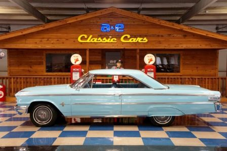 1963 Ford Galaxie 500XL – Glacier Blue