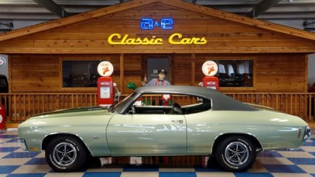 1970 Chevrolet Chevelle SS 396 – Green Mist & Dark Green Vinyl