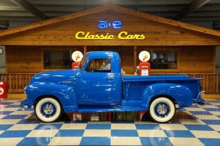 1952 Chevrolet Pickup – Blue