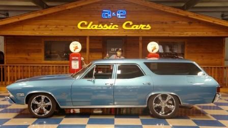 1968 Chevrolet Custom Nomad – Grotto Blue