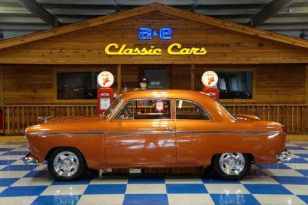 1952 Willys Aero Coupe – Tangerine Bronze