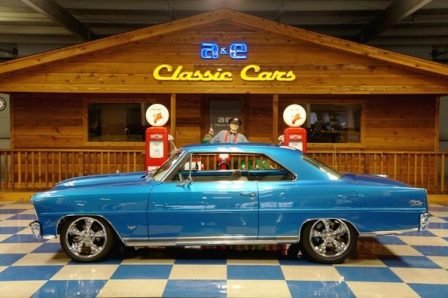 1966 Chevrolet Nova SS – Bright Metallic Blue