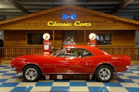 1967 Chevrolet Camaro – Red