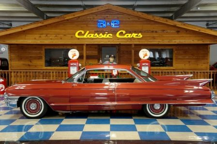 1961 Cadillac Coupe DeVille – Firethorne Red Metallic