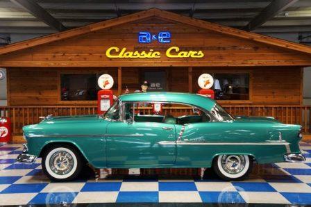 1955 Chevrolet Bel Air – Neptune Green