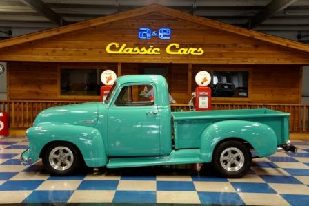 1954 Chevrolet Pickup – Atlas Green Blue