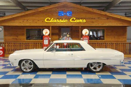 1965 Chevrolet Malibu – Ermine White