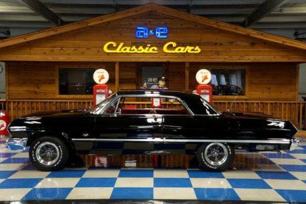 1963 Chevrolet Impala SS – Tuxedo Black