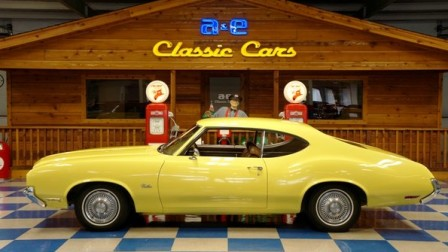 1972 Oldsmobile Cutlass – Sunfire Yellow