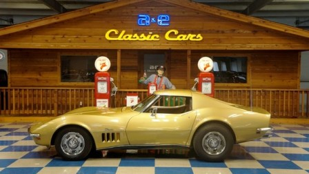 1969 Chevrolet Corvette with Removable T-Tops – Riverside Gold
