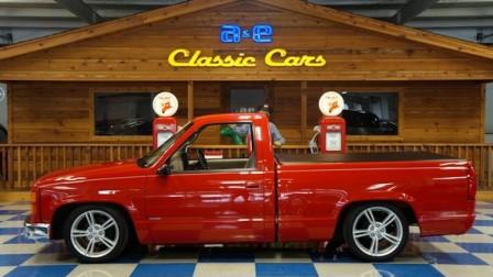 1996 Chevrolet Sierra Custom Pickup – Red