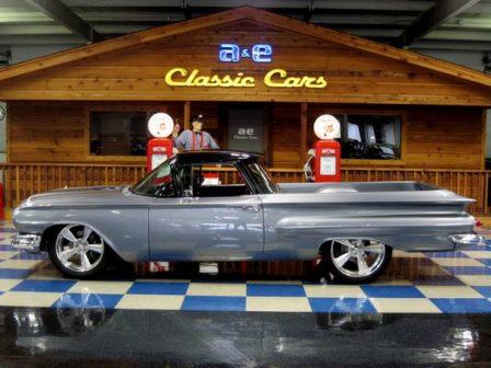 1960 Chevrolet El Camino Custom – Silver and Black