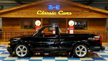 1992 Chevrolet Pickup 454SS Low Mileage- Black