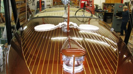 1928 34.6 Minett Shields Triple Cockpit Runabout – #30727