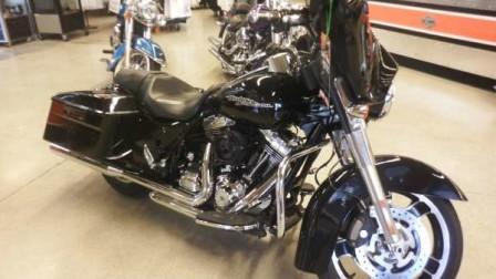 Vivid Black Harley-Davidson Street Glide 8,867 Miles