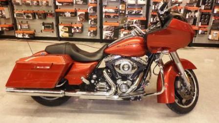 Sedona Orange Harley-Davidson Road Glide Custom