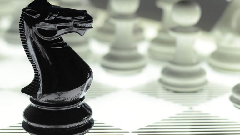 Luxury Chess sets by Purling London Luxury Chess Sets features a black and white chess pieces on a chess board