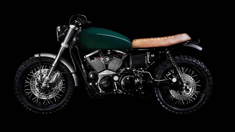 VDBMoto Harley Scrambler