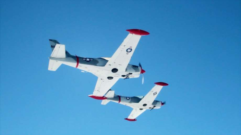 aircraft by air combat usa two fighter jets flying side by side in the sky
