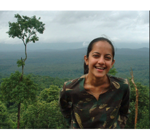 women making a difference featuring Krithi Karanth a conservation scientist