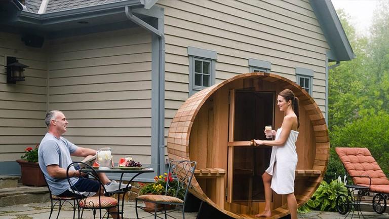 saunas by almost heaven saunas