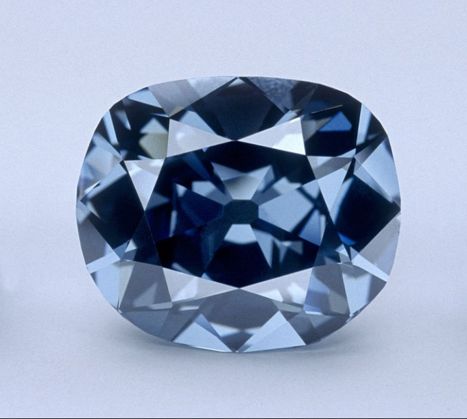 diamonds the hpe diamond worth 250 million with a light blue background