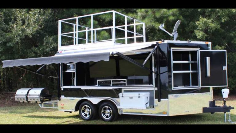 tailgating trailers by Ready-2-Roll Trailers