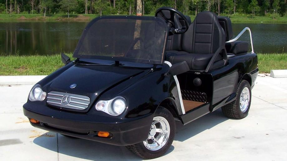 Luxury Golf Carts Toysforbigboys Com