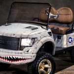 luxury golf carts by caddyshack