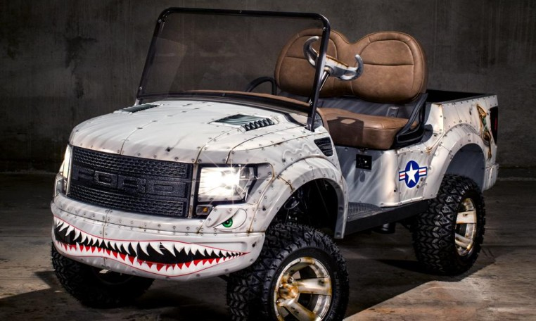 luxury golf carts by caddyshack