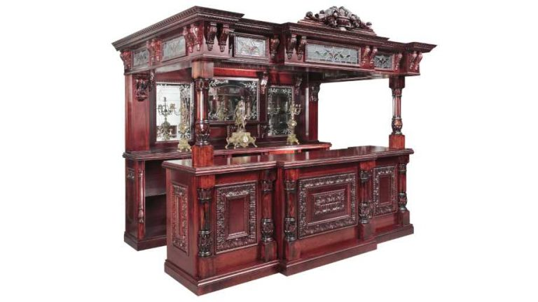 antiques by Jeres Antiques with a luxury home bar