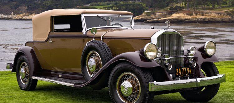 vintage cars a 1950 pierce arrow rolls royce