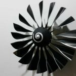 aircraft collectibles by Phighter Images featuring a ceiling fan on the wall